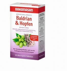 Beruhigungs-Dragees Baldrian & Hopfen