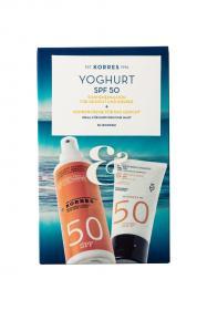 Set YOGHURT SPF 50 - Sonnencreme für das Gesicht & Sonnenemulsion für Gesicht und Körper