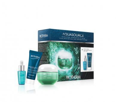 Aquasource Gel Gesichtspflegeset